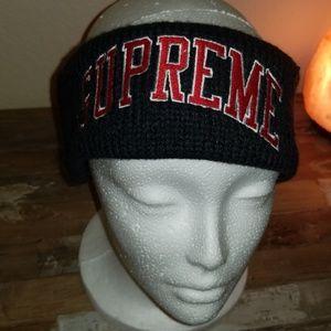 Authentic Supreme headband winter headband